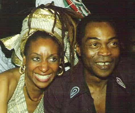 Sandra Izsadore and Fela