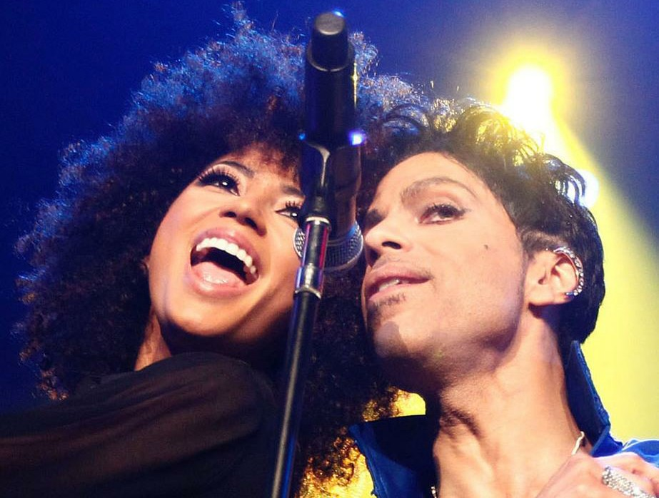 Andy Allo and Prince