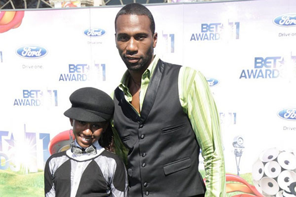 Leon with his daughter Noelle at the BET Awards