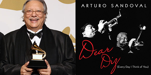 Arturo Sandoval-Grammy Award winning album Dear Diz
