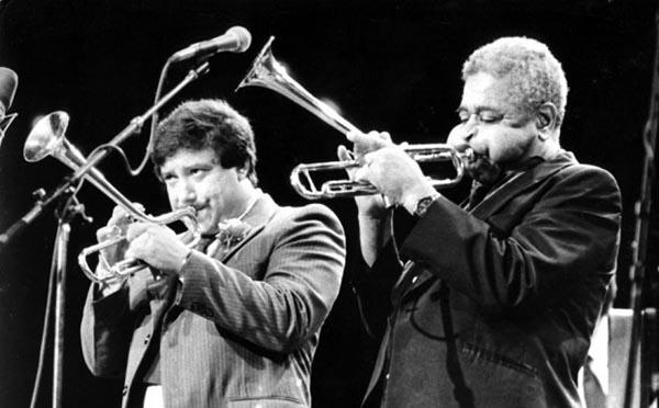 Arturo Sandoval and Dizzy Gillespie