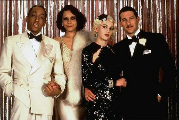 "Gregory Hines, Lonette McKee, Diane Lane and Richard Gere from the movie ""Cotton Club"