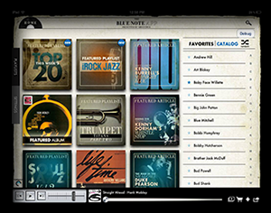 iRock Jazz Blue Note Music App