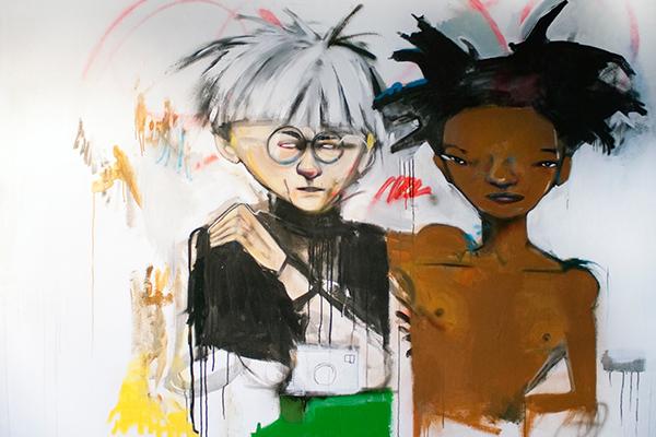 Hebru Brantley;Warhol and Basquiat