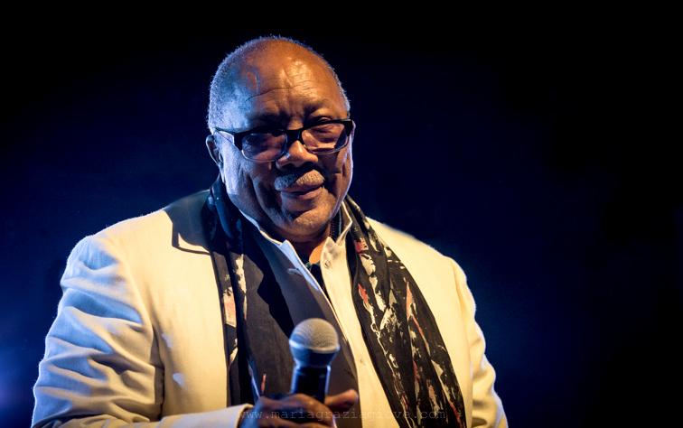 Quincy Jones Photo by Maria Grazia Giove