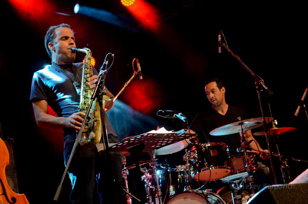 Dave Binney and Antonio Sanchez photo by Alexey Karpovich