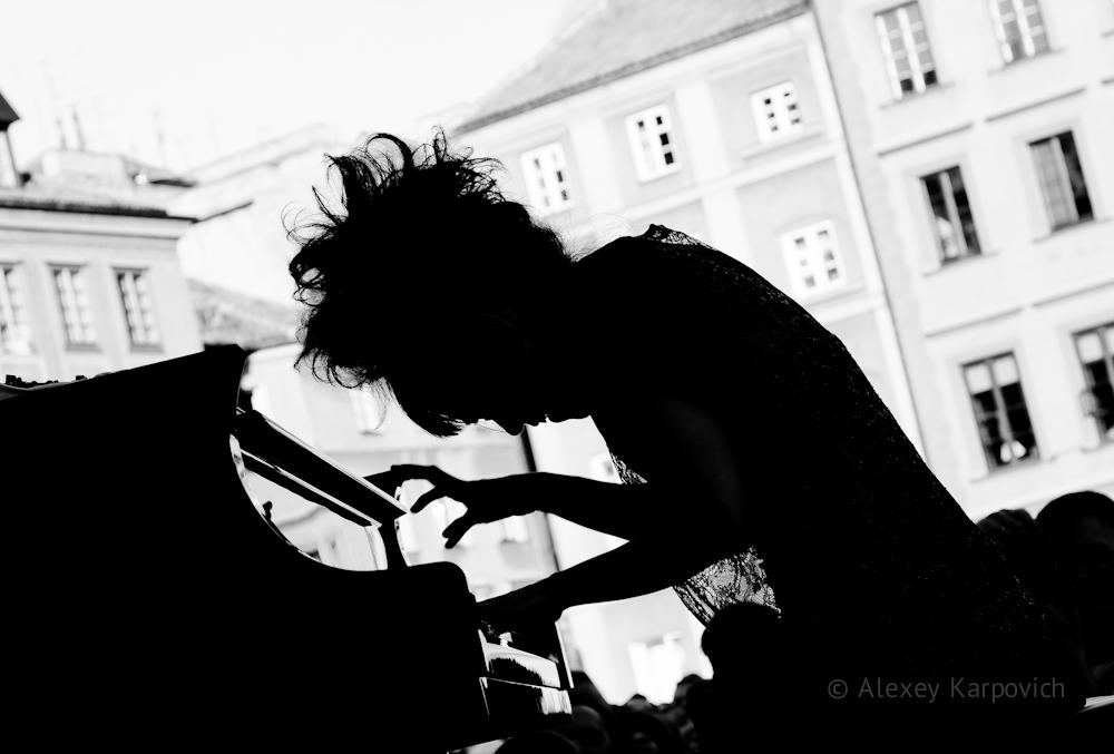 Hiromi Uehara photo by Alexey Karpovich