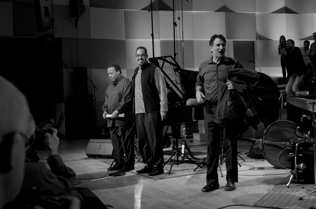Wayne Shorter Quartet photo by Alexey Karpovich