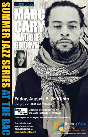 iRock Jazz Presents Marc Cary and Maggie Brown at Beverly Arts Center