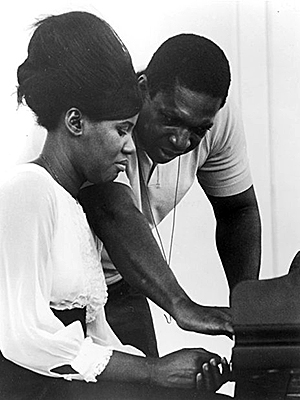 Alice and John Coltrane