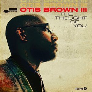 Otis Brown III CD Cover The Though of You