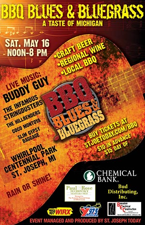 St Joe BBQ, Blues  & Bluegrass Festival