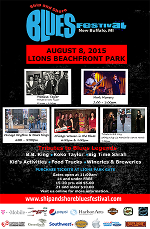 Ship and Shore Blues Festival 2015