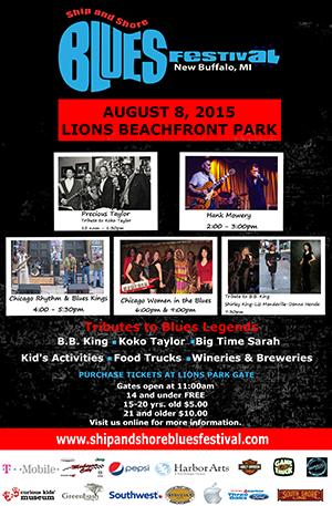 Ship and Shore Blues Festival 2015