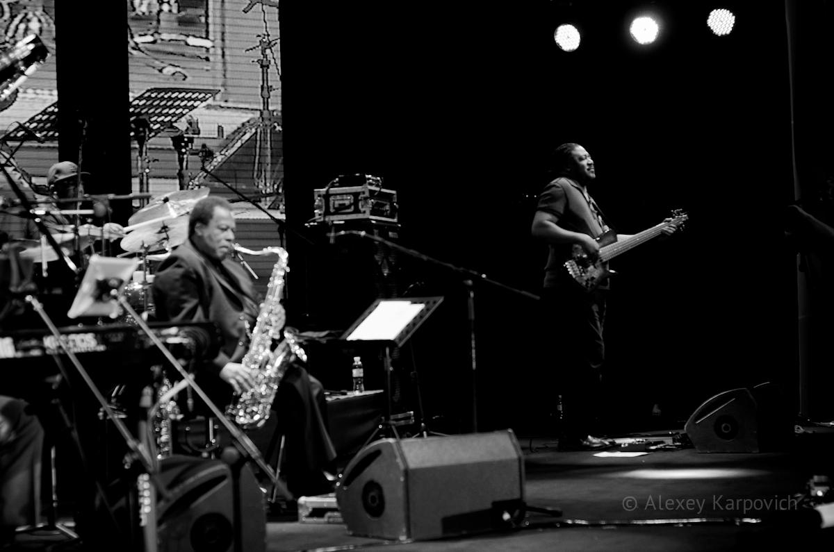 Wayne Shorter, James Genus photo by Alexey Karpovich