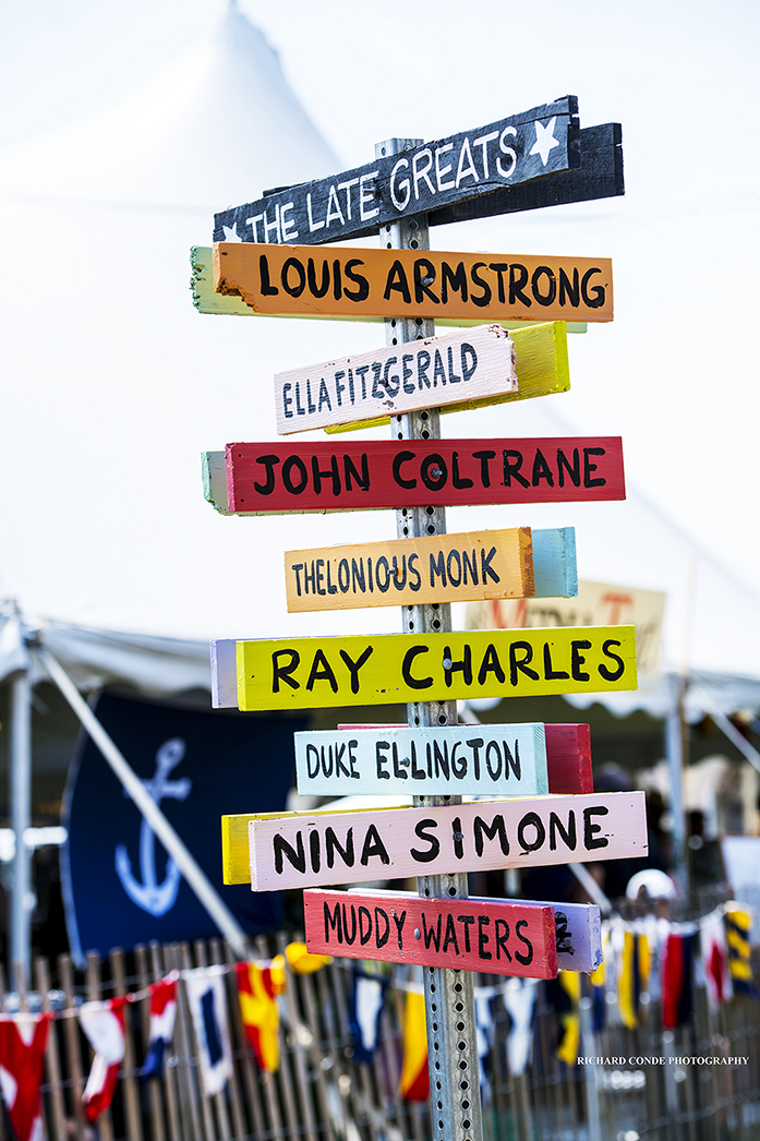 The Late Greats signpost